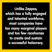 Zappos' Holacracy Shrewd Move to Improve Return on People