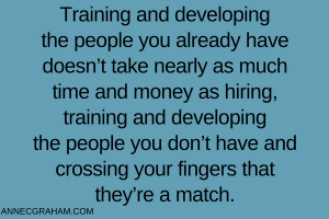 Training and Developing