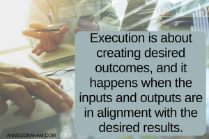 Creating desired outcomes