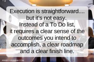 Execution is straightforward