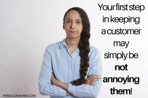 Keeping a Customer