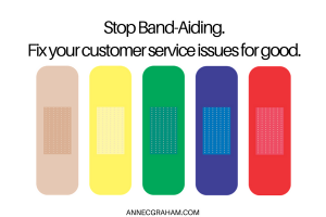 Stop Band-Aiding