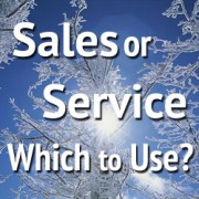 3 Big, Impactful Ideas for Your Next Sales Conference Part III: Sales or Service – Which to Use?