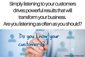 Listening to Customers