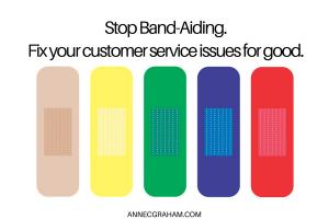 Stop Band-Aiding