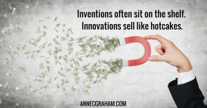 Inventions often sit on the shelf